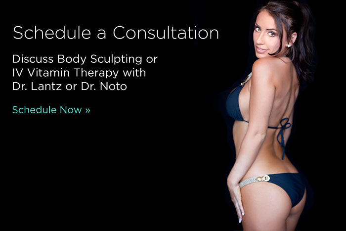 Schedule a Consultation Body Sculpting and IV Vitamin Therapy Photo Slide